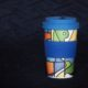 kuori bamboo coffee cup abstract expressionism design