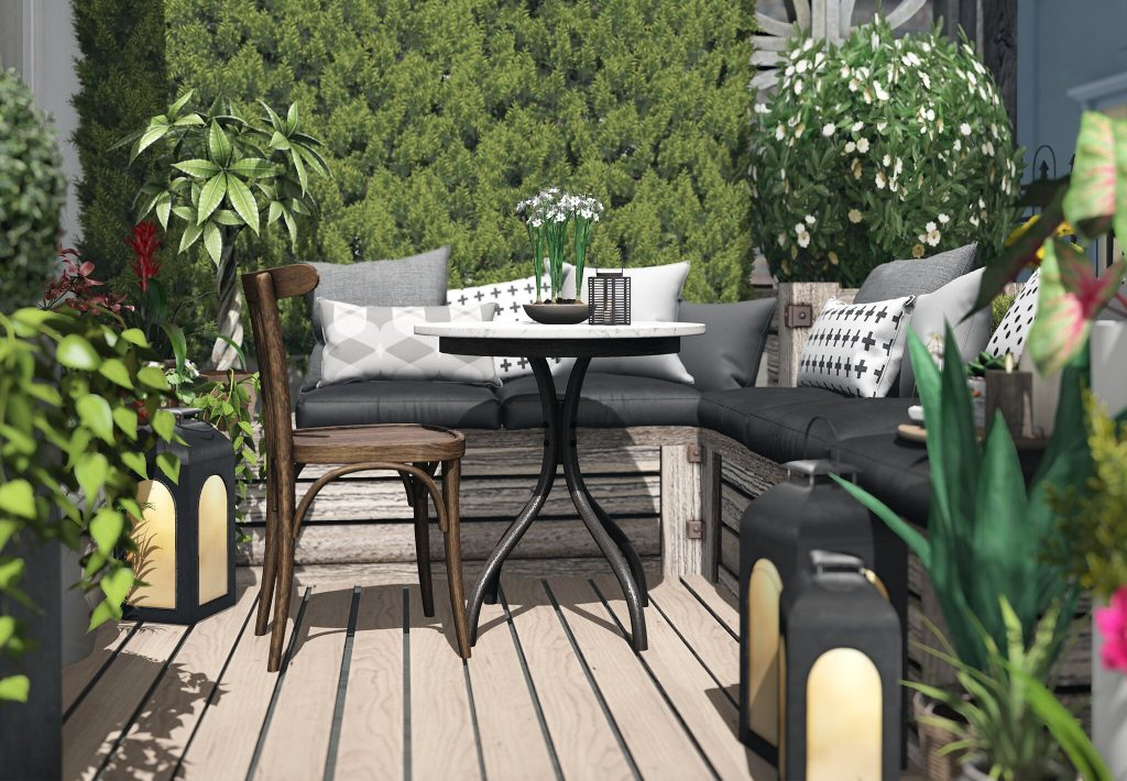 balcony design for a small space