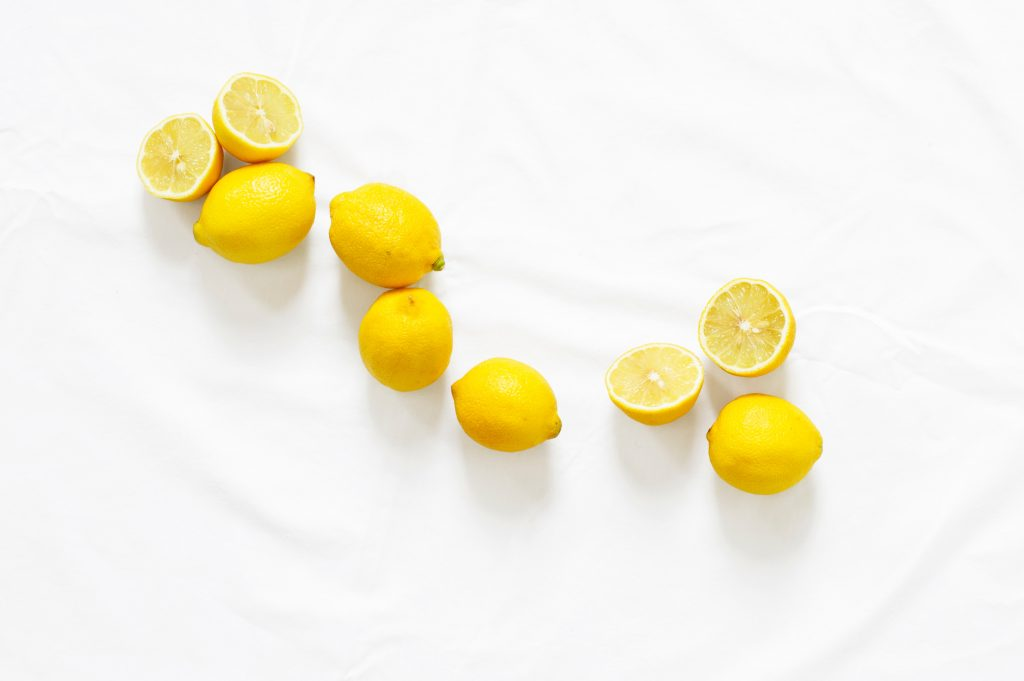 lemons for house cleaning with natural products