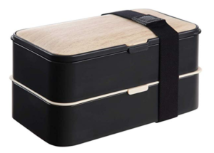 2 Tier Bento Lunch Box Lunch Boxes with Reusable Cutlery