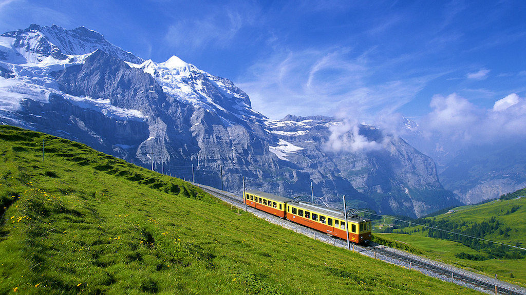 Solo holidays: Jungfrau Mountain - Switzerland