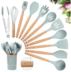 Kitchen Utensil Set Silicone Cooking Utensils