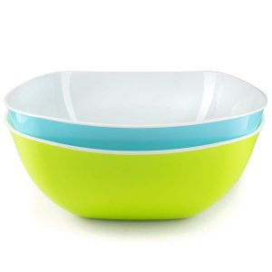 Salad bowls set of 2 - stackable