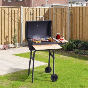 Practical and fine - Portable charcoal BBQ grill