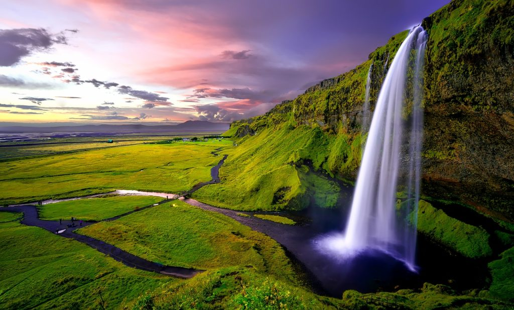 Solo holidays: Seljalandsfoss Waterfall - Iceland