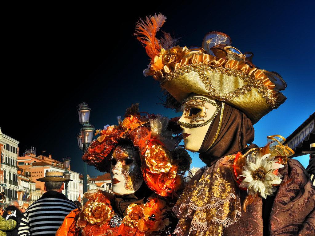 Venetian masks - Venice, Italy