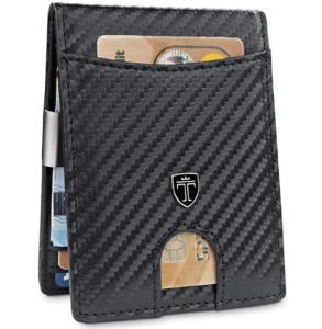 TRAVANDO ® Slim Wallet with Money Clip with RFID Blocking