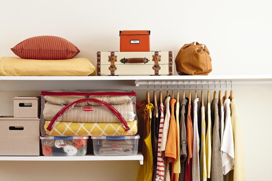 closet space organizer