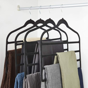 multi level clothes hanger