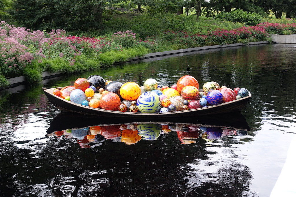 Chihuly artwork - New York Botanical Gardens Bronx