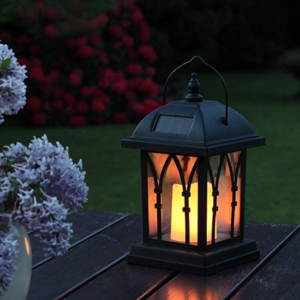 Solar Powered LED Garden Lantern