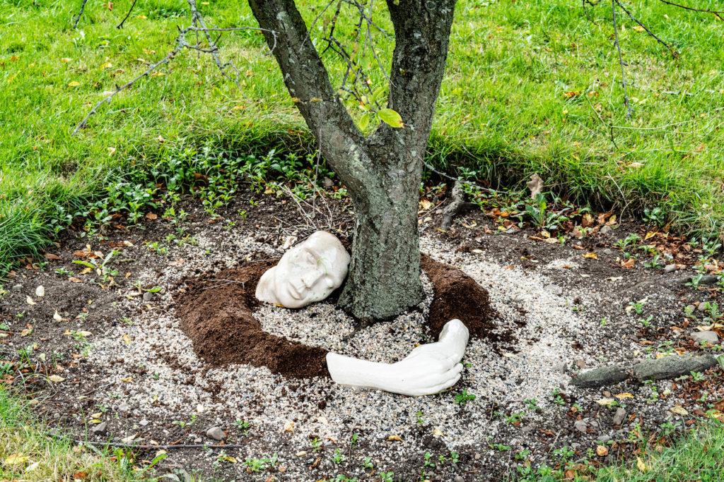 tree hugger - Nature - sculpture - by Sharon Regan