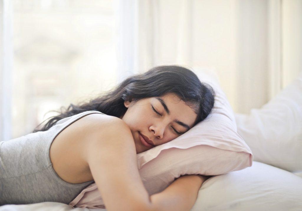sleep hygiene - sleeping woman