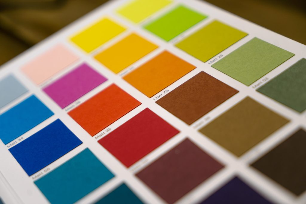 color accents - pantone