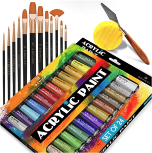 Complete Acrylic Paint Set