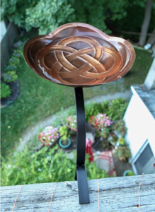 Achla Designs Dara Bracket Railing Mount Birdbath
