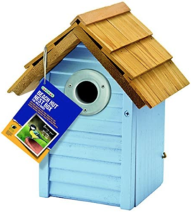 Gardman Beach Hut Bird Nest Box