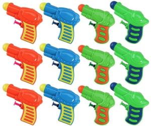 Kids Plastic Water Squirt Gun