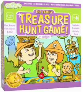Treasure Hunt Game GoTrovo - Scavenger Hunt for Kids Indoors and Outdoor