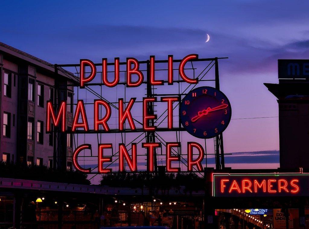 Pike Place Market - Seattle Washington