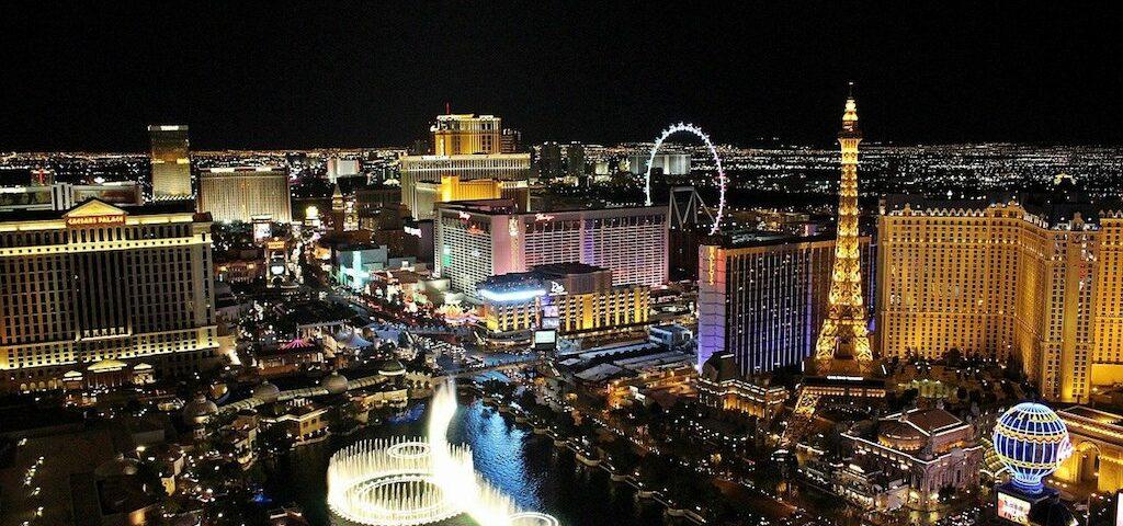 las vegas night view