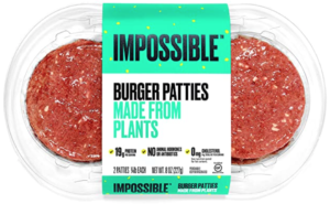 Impossible Foods Impossible Burger Plant-Based Ground Beef Patties