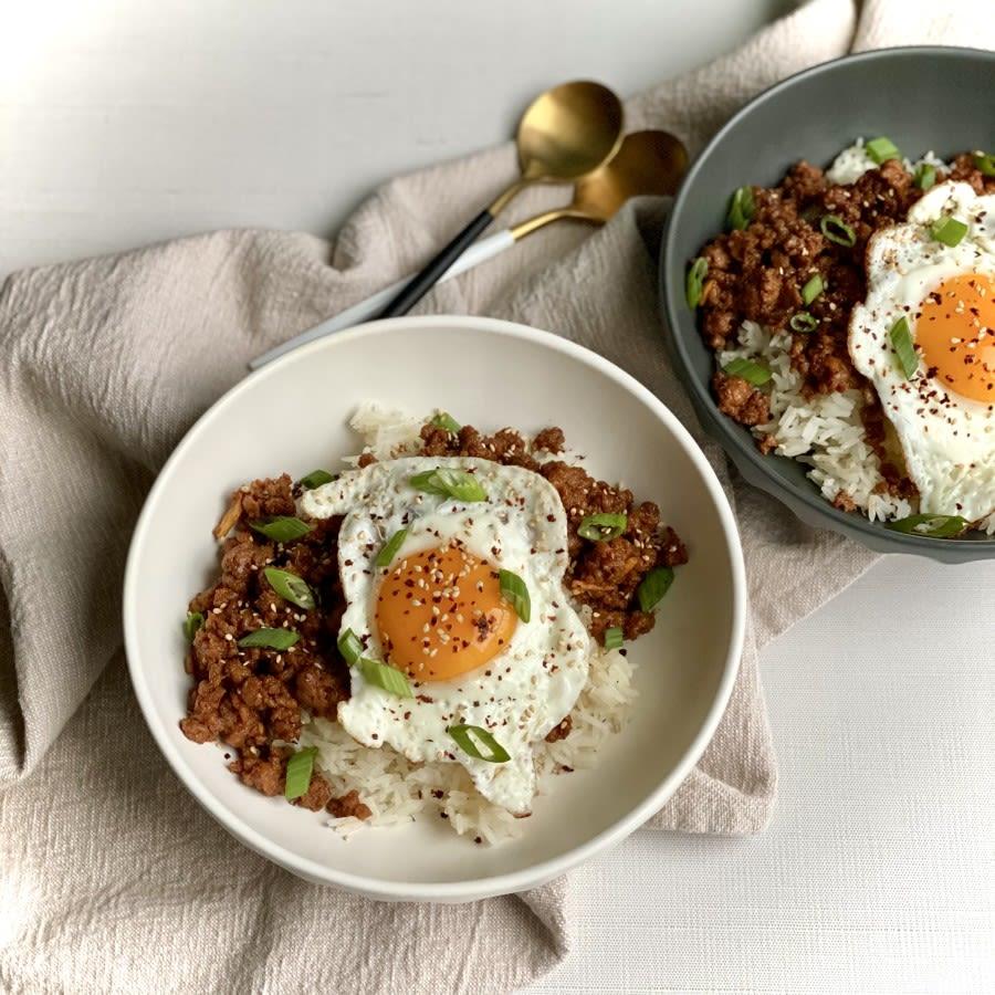 Impossible Spicy Korean Rice Bowl Recipe
