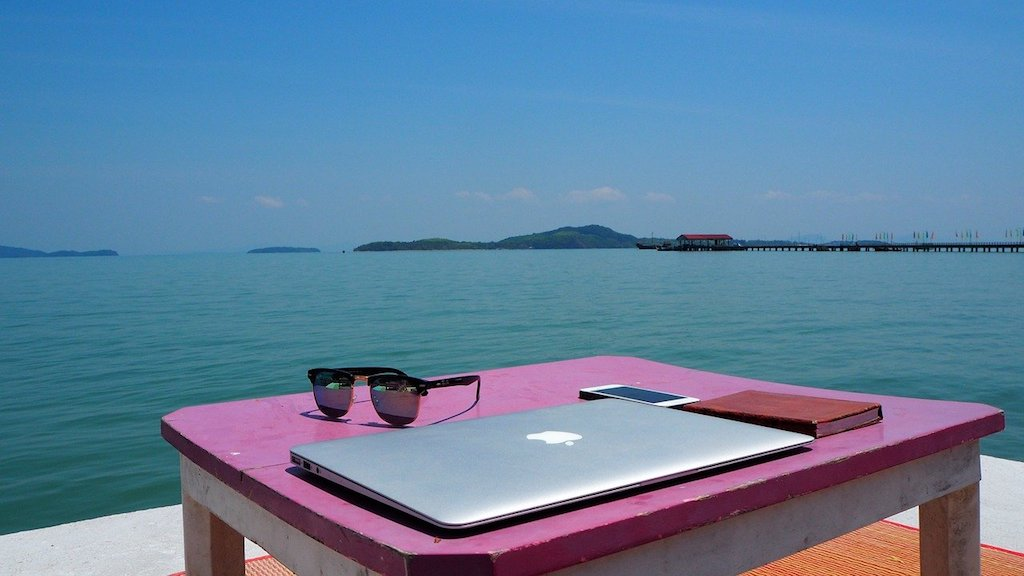 thailand working as a digital nomad